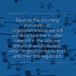 The difficulty in regulating new asset classes - quote